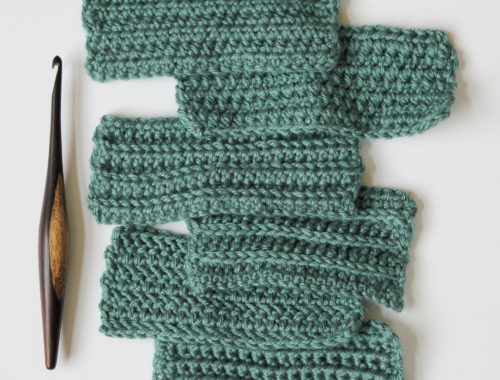 Easy variations of the half double crochet stitch. Photo tutorials for herringbone half double crochet, wide hdc, hdc in 3rd loop, and more. This is part 3 of a 3-part series!