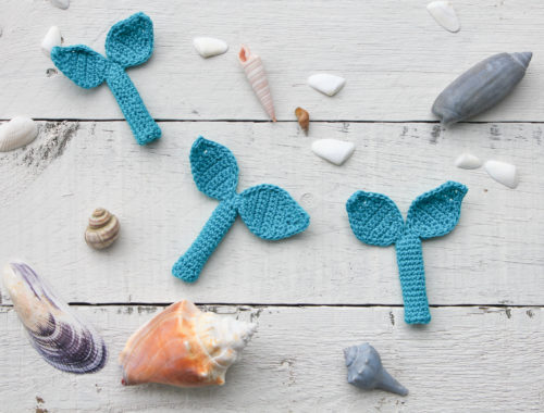 Free Mermaid Pencil Topper Crochet Pattern