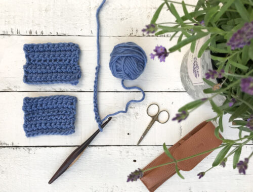 How to Crochet into the back bump